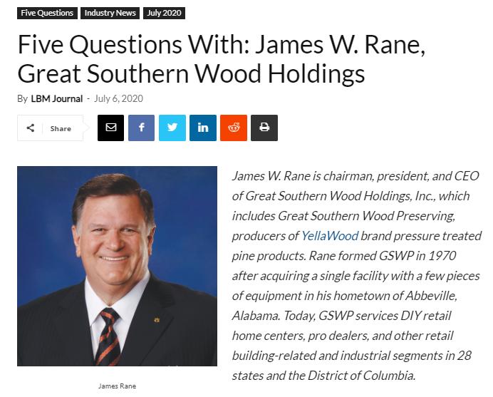 YW James Rane case study